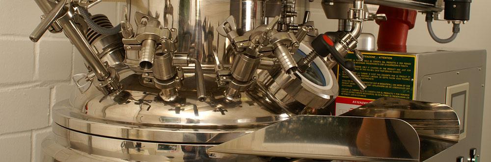 <p>Ausrüstungen für die Produktion von UV-Gelen</p>